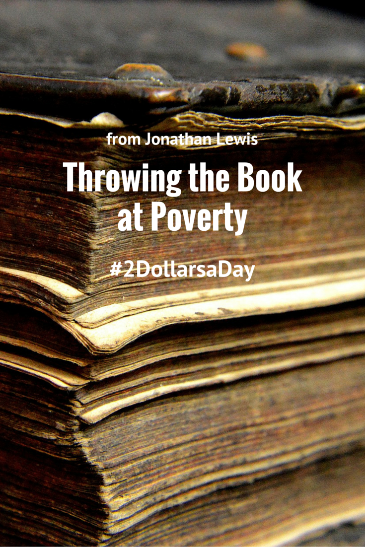 Throw the Book at Poverty - p